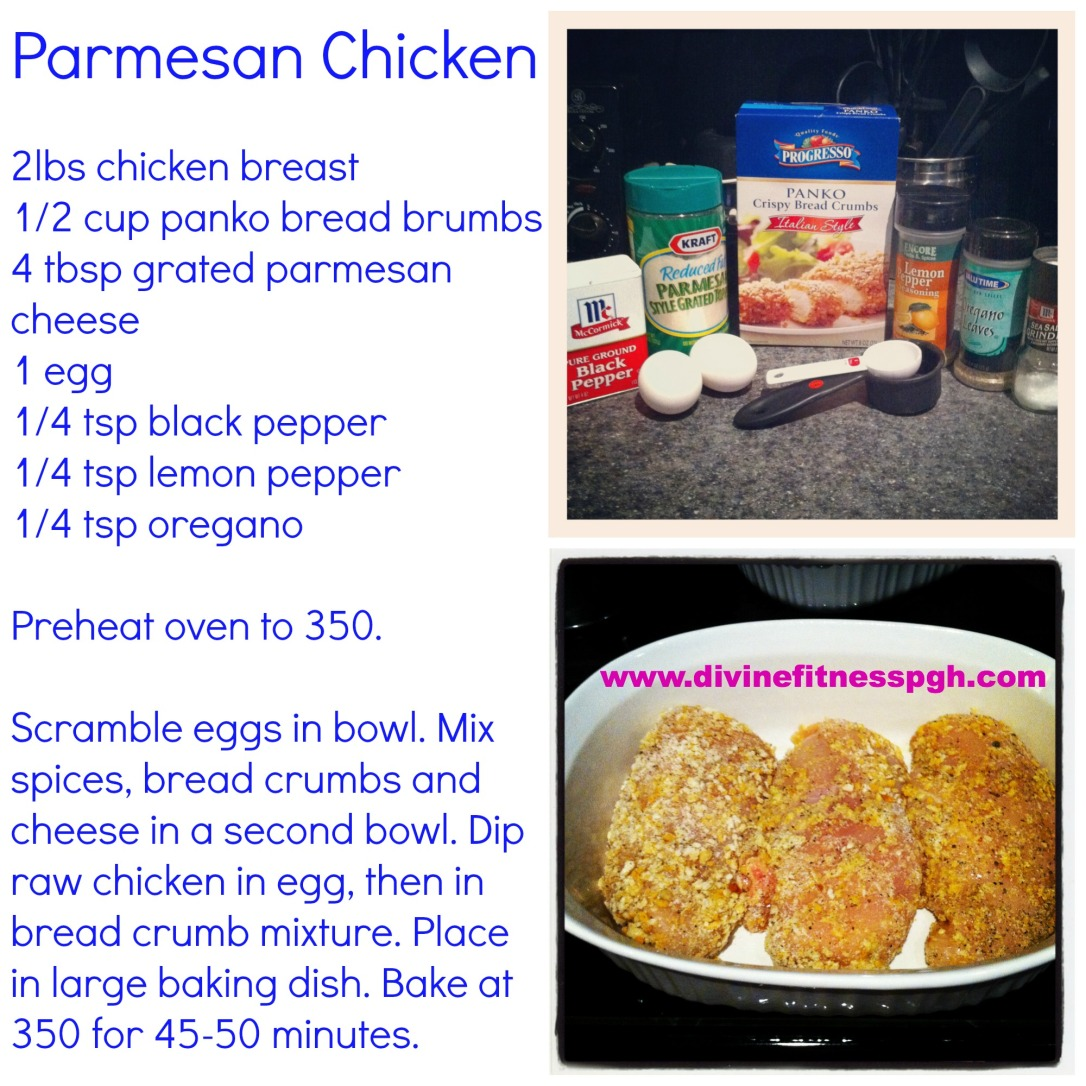 Parm Chicken Recipe