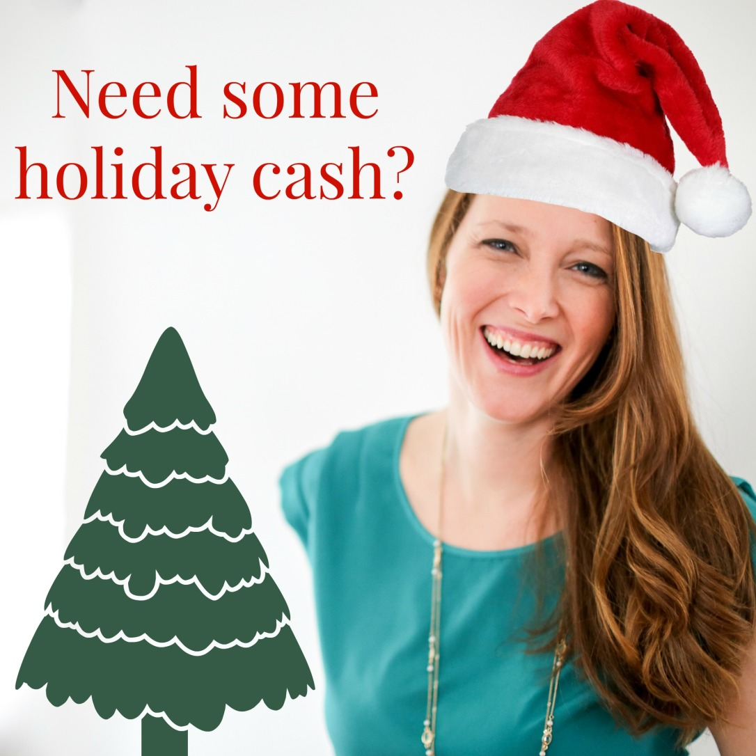 Earn holiday cash from home!!