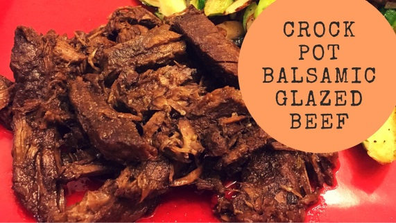 Pope Fitness: Crock Pot Balsamic Glazed Beef